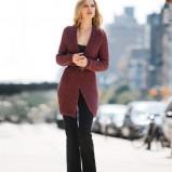 czarne spodnie H&M dzwone - jesień/zima 2011/2012