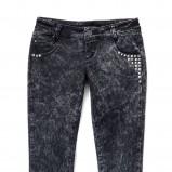 czarne spodnie House - moda jesień/zima 2010