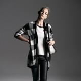 czarne spodnie Reserved skórzane - kolekcja zimowa