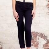 czarne spodnie Stradivarius modny - wiosna-lato 2012