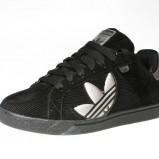 czarne trampki Adidas - jesień-zima 2010/2011