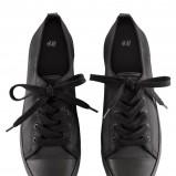 czarne trampki H&M - wiosna 2013