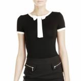 czarno-biała bluzeczka Pretty Girl - moda na jesień 2013