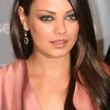 czarno-szary makijaż - Mila Kunis