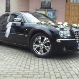 czarny chrysler 300c na wesele  i do ślubu Ślask