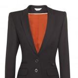 czarny garnitur Pretty One - moda na jesień 2013