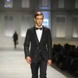 czarny garnitur Vistula - moda 2011/2012