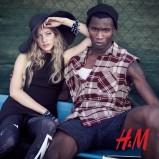 czarny kapelusz H&M - moda festiwalowa
