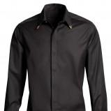 czarny koszula H&M - jesień/zima 2011/2012