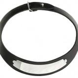 czarny naszyjnik Glitter  - minimalistyczna biżuteria
