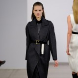 czarny płaszcz Calvin Klein - zima 2013/14