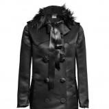 czarny płaszcz H&M - jesień/zima 2010/2011