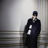 czarny płaszcz H&M - z kolekcji jesień-zima