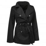 czarny płaszcz Jackpot - trendy wiosna-lato