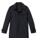 czarny płaszcz Reserved - wiosna/lato 2011
