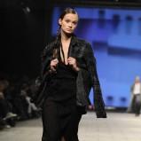 czarny płaszcz Robert Kupisz - jesień/zima 2012