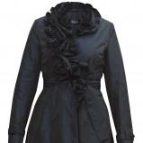 czarny płaszczyk Gapa Fashion - wiosna 2011