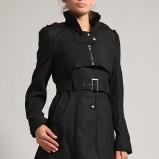 czarny płaszczyk Orsay - jesień/zima 2011/2012