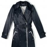 czarny płaszczyk Reserved - kolekcja wiosenno/letnia