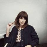 czarny płaszczyk Vero Moda - jesień 2012