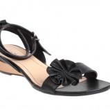 czarny sandały Quazi - lato 2011