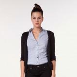 czarny sweter Bershka rozpinany - moda jesienna