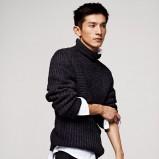 czarny sweter H&M - jesień/zima 2012/2013