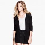 czarny sweter H&M - moda na zimę 2013/14