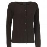 czarny sweter InWear rozpinany - z kolekcji jesień-zima