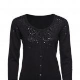 czarny sweter New Yorker rozpinany - jesień/zima 2010