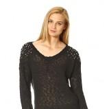 czarny sweter Orsay - jesień i zima 2013/14