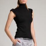 czarny sweter Orsay z golfem - jesień/zima 2011/2012