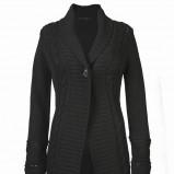 czarny sweter Top Secret długie - sezon jesienno-zimowy