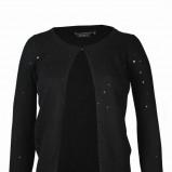 czarny sweter Top Secret - jesień-zima 2010/2011