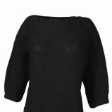 czarny sweter Top Secret - sezon jesienno-zimowy