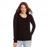 czarny sweterek C&A - moda na jesień 2013
