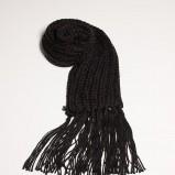 czarny szalik Orsay - jesień/zima 2011/2012