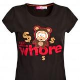 czarny t-shirt Cropp z nadrukiem - trendy 2012