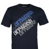 czarny t-shirt Drywash z nadrukiem - wiosna/lato 2012