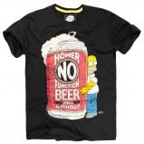 czarny t-shirt House z nadrukiem - jesień 2011