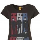 czarny t-shirt Topshop z nadrukiem - kolekcja wiosenno/letnia