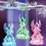 Czarodziejskie bombki aniołki w różnych kolorach   - inspiracje Weldbild