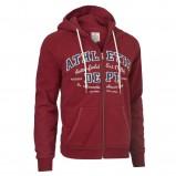 czerwona bluza Cottonfield z kapturem rozpinana - moda 2011/2012