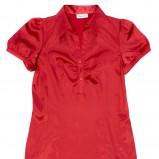 czerwona bluzka C&A - kolekcja jesienno-zimowa