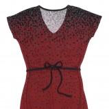 czerwona bluzka Carry we wzorki - jesień/zima 2011/2012
