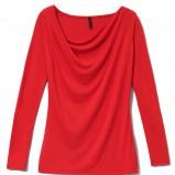 czerwona bluzka Mohito - moda 2012