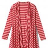 czerwona bluzka Mohito w paski - trendy wiosna-lato