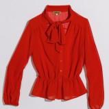 czerwona bluzka Orsay - kolekcja jesienno-zimowa