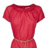 czerwona bluzka Stradivarius - wiosenna kolekcja