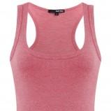 czerwona bluzka Tally Weijl na ramiączkach - jesień 2011